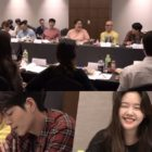 "Watch: Yeo Jin Goo, Minah, Hong Jong Hyun, And More Cast Of ""Absolute Boyfriend"" Enjoy Script Reading"