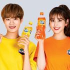 AB6IX's Lee Dae Hwi Joins Close Friend Jeon Somi As Joint Brand Models For Fanta