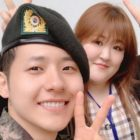 Lee Guk Joo Visits B1A4's CNU In The Army + Shares His Sweet Message For Fans