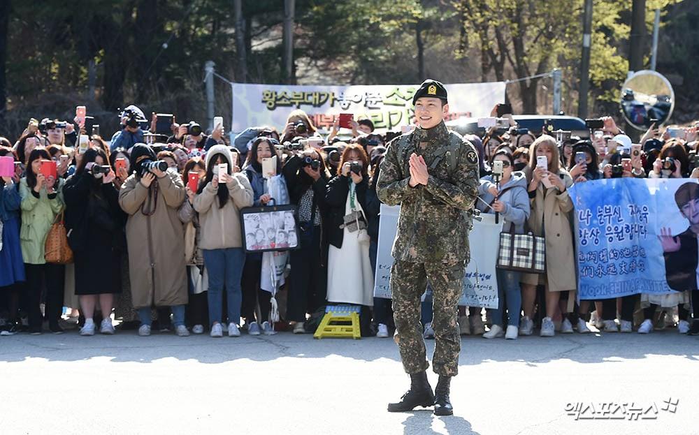 Ji Chang Wook keluar wajib militer