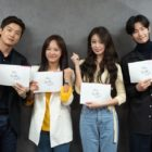 "Yeon Woo Jin, Kim Sejeong, Jiyeon, And Song Jae Rim Attend Script Reading For ""I Wanna Hear Your Song"""