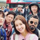 EXO's Kai, Lee Si Young, And More Share Fun Photos From London Filming Of Upcoming Variety Show