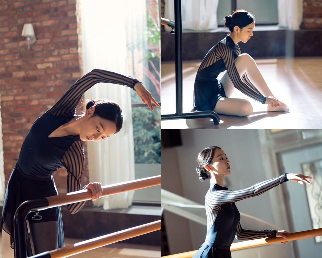 Shin Hye Sun Perfectly Transforms Into An Elegant Ballerina