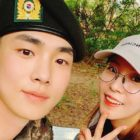 BoA Visits SHINee's Key In The Army