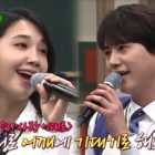 "Watch: Super Junior's Kyuhyun And Apink's Jung Eun Ji Prove Their Talent As Vocalists In ""Ask Us Anything"" Preview"