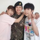 B1A4's CNU Shares Adorable Pictures With Gongchan And Sandeul While On Military Leave