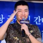 Watch: Kang Ha Neul Discharged From Military; Names The Girl Groups Who Kept Him Going During His Service