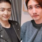 SHINee's Minho Is A Shining Soldier In Video Call With TVXQ's Changmin
