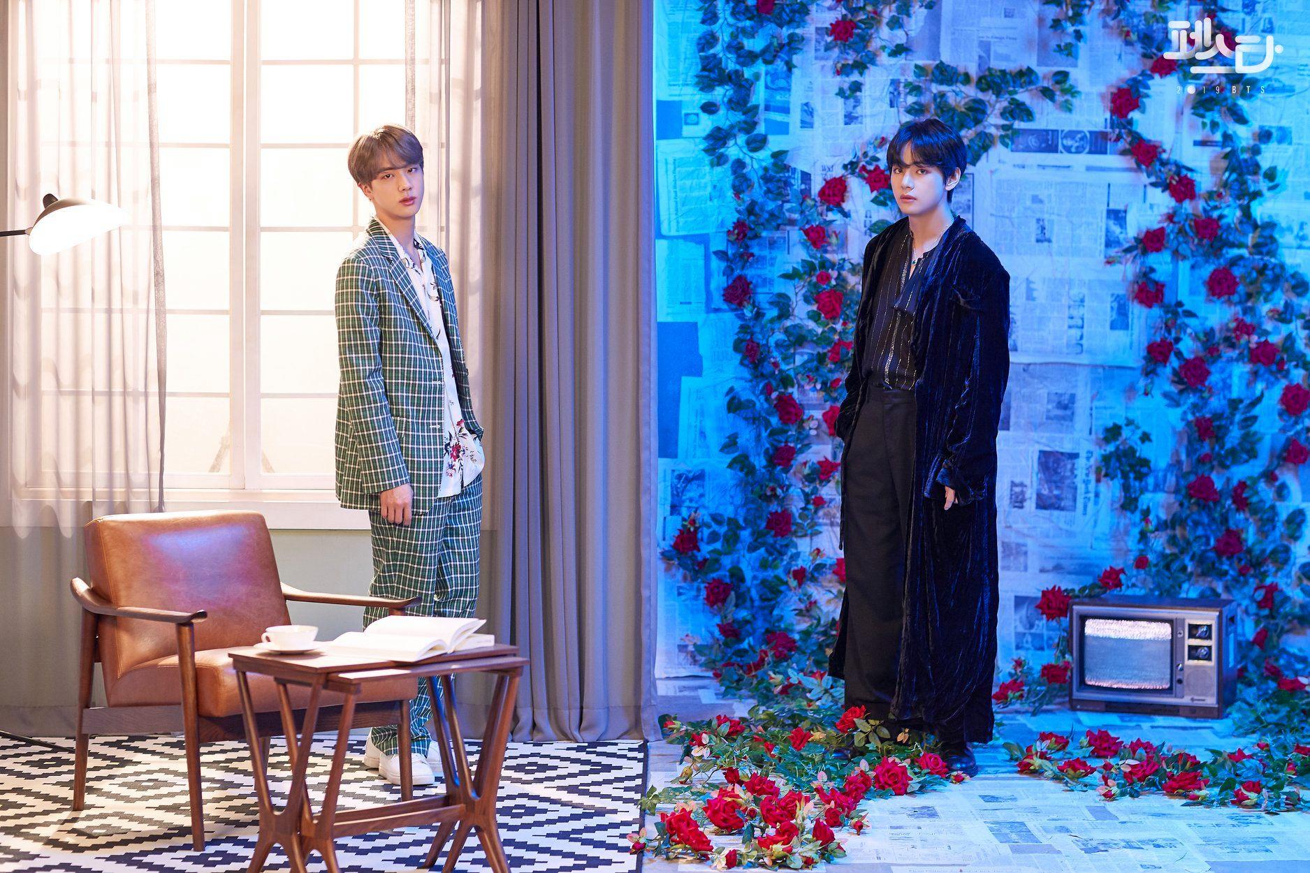 Jin dan V BTS