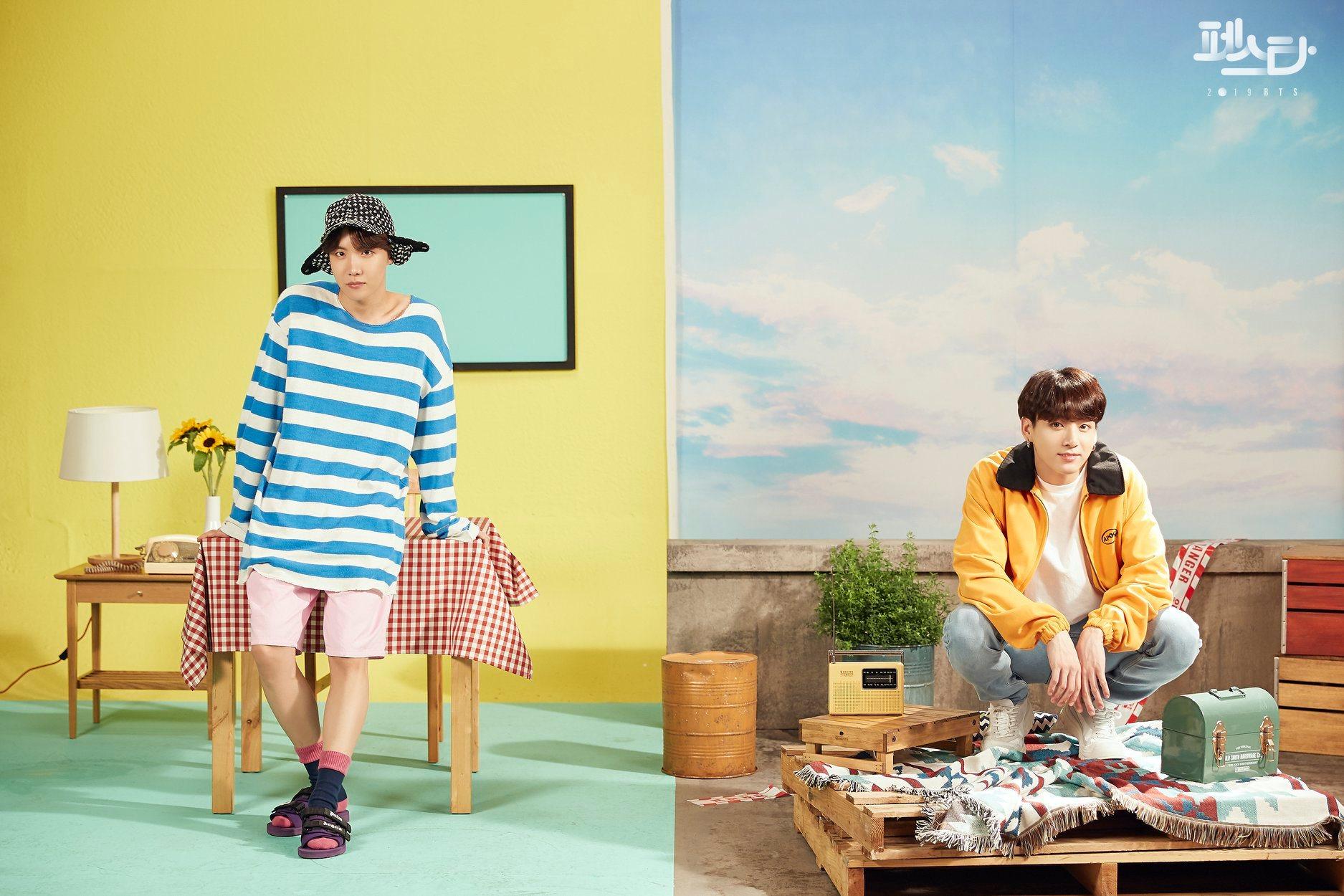 J-Hope dan Jungkook BTS