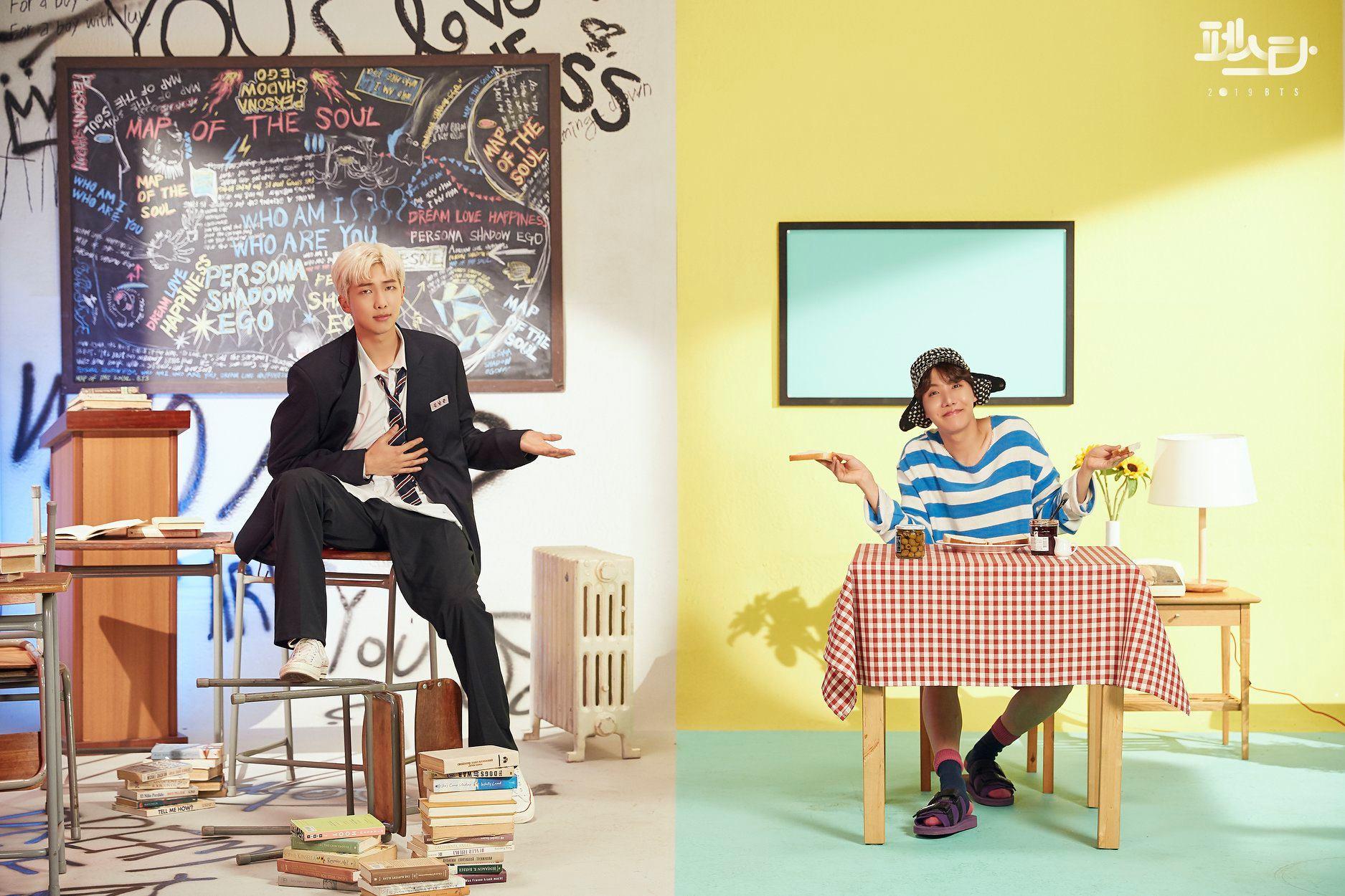 RM dan J-Hope BTS
