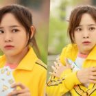 "gugudan's Kim Sejeong Looks Shocked And Confused In First Glimpse For ""Let Me Hear Your Song"""