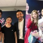 "TWICE's Dahyun, Super Junior's Choi Siwon, And Park Jae Min Meet Kim Yuna At ""All That Skate 2019"""