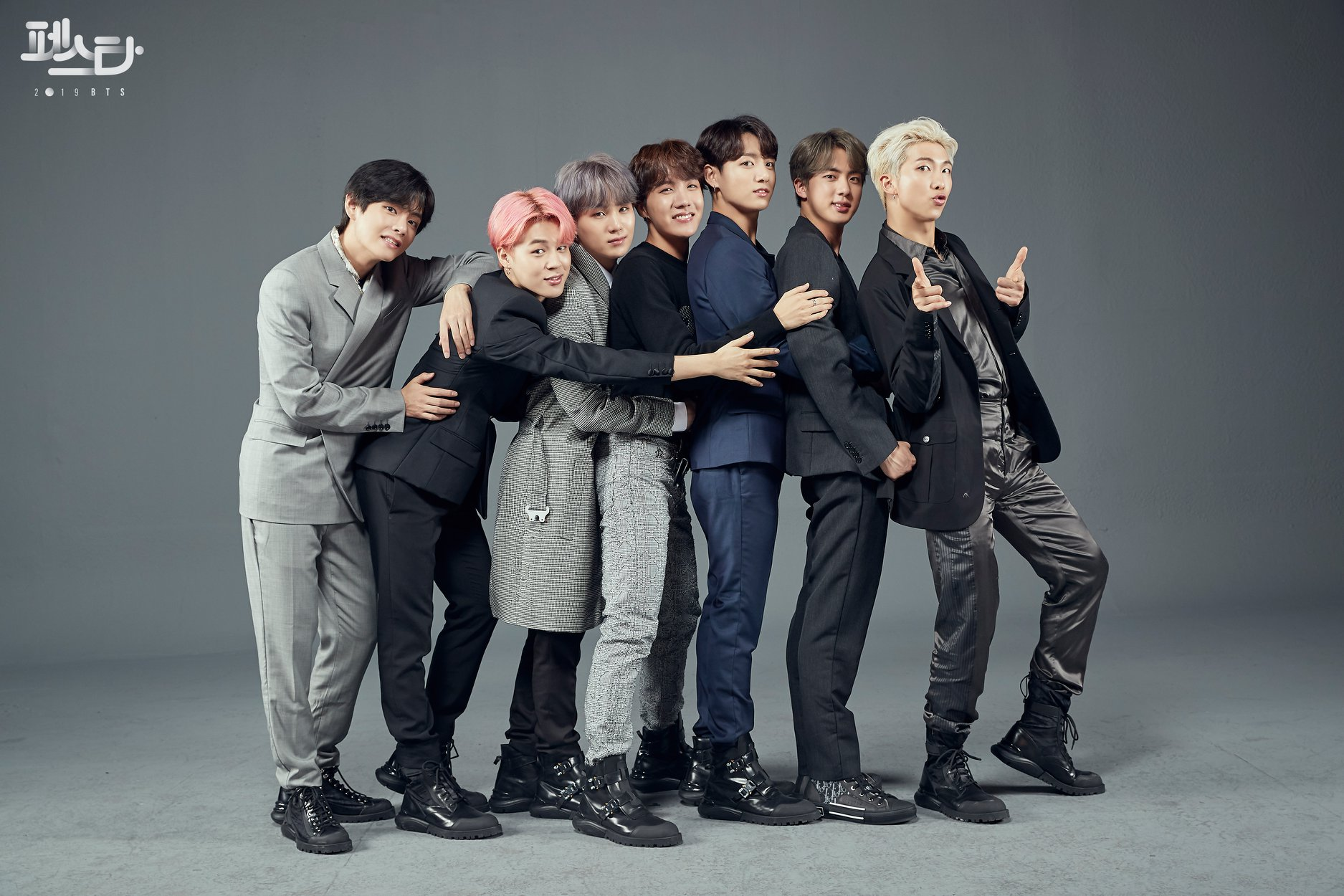 BTS Is #SquadGoals In New Family Portraits For 2019 Festa