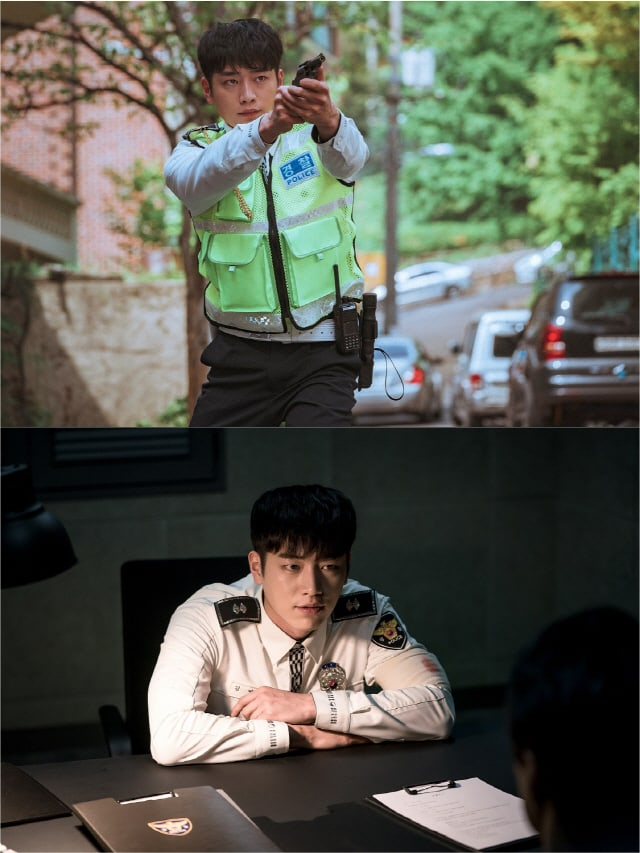 Tạo hình sĩ quan cảnh sát của Seo Kang Joon