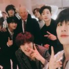 MONSTA X Snaps Photos With President Moon Jae In And King Harald V Of Norway