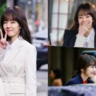 "Im Soo Jung Is All Smiles As She Creates Refreshing Vibe On Set Of tvN's ""Search: WWW"""