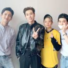 TVXQ's Changmin, EXO's Suho, And f(x)'s Amber Cheer On Yunho's Solo Debut