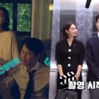 "Watch: Shin Min Ah And Lee Jung Jae Work Together To Set The Perfect Mood In ""Chief Of Staff"" Making Video"