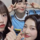 "IZ*ONE's Choi Ye Na Proves Herself A True Red Velvet Fan After Hanging Out With Seulgi And Joy On ""Mafia Game in Prison"""