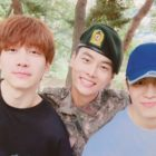 VIXX's Hyuk And Hongbin Visit N In The Army