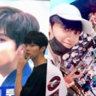 """""""Produce X 101"""" Contestants Kim Woo Seok And Lee Jin Hyuk Visit Their Subway Ads + Thank Fans For Support"""