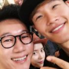 Ji Suk Jin Shows Off Impressive Caricature Drawn By Kim Jong Kook