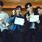 "Watch: Ong Seong Wu, Kim Hyang Gi, And More Are Buzzing With Excitement And Nerves At ""Moments of 18"" Script Reading"