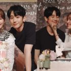 "Jung Hae In, Han Ji Min, And More Say Goodbye After Finale Of ""One Spring Night"""