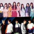 "IZ*ONE's ""Buenos Aires"" And MONSTA X's ""Alligator"" Achieve Gold Certifications In Japan"