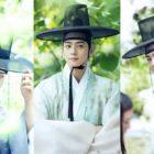 "ASTRO's Cha Eun Woo Is A Joseon Dynasty Fashionista On Set Of ""Rookie Historian Goo Hae Ryung"""