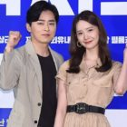 "Jo Jung Suk And Girls' Generation's YoonA Talk About Relying On Each Other While Filming ""E.X.I.T"""