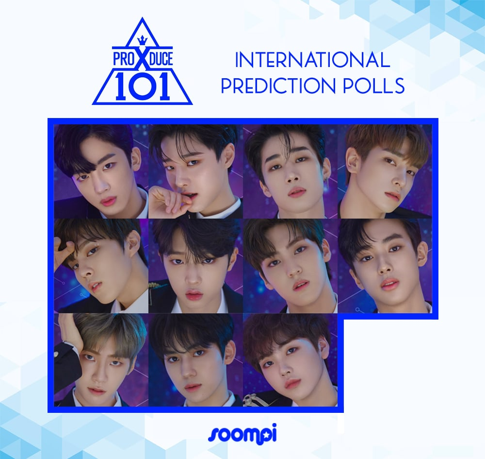 "Check Out The Final Dream Lineup For ""Produce X 101"" As Voted By"