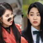 "IU And gugudan's Mina Have A Peculiar Meeting In ""Hotel Del Luna"""