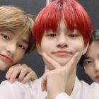 Stray Kids' Hyunjin, AB6IX's Lee Dae Hwi, And CIX's Bae Jin Young Show Off Adorable Friendship In Backstage Photos