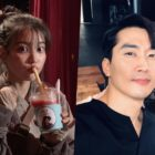 "IU Thanks Her ""Fan Club President"" Song Seung Heon For Sending Gift To ""Hotel Del Luna"" Set"