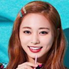TWICE's Tzuyu Virtually Tests Out A New Hair Color + Asks For Fans' Input