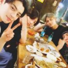 Jungkook Reveals Photo From Gathering With '97-Line Friends Cha Eun Woo, Mingyu, And Yugyeom