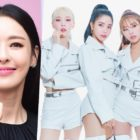Watch: Lee Da Hee Becomes Successful Fangirl Of MAMAMOO With Signed Light Stick + Moonbyul Leaves Cute Comment