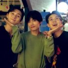 """BTS's V Shows His Support For Friends Park Seo Joon And Choi Woo Shik In Film """"The Divine Fury"""""""