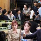 """Medical Team Led By Ji Sung Gathers To Enjoy Company Dinner Together In """"Doctor John"""""""