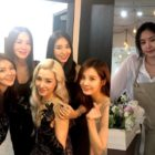 Girls' Generation, Uhm Jung Hwa, Bora, And Apink's Son Naeun Show Support For Tiffany At Her Solo Concert