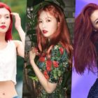 "Female Idols Who Channeled Ariel From ""The Little Mermaid"" With Their Vibrant Red Hair"