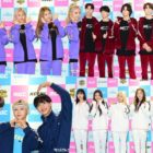 """Watch: Idols Arrive At """"2019 Idol Star Athletics Championships – Chuseok Special"""" For Filming"""
