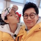 Ji Suk Jin Shares Video Of Song Ji Hyo In Recording Studio For Her Birthday