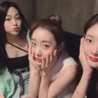 gugudan's Mina, WJSN's Yoo Yeonjung, And DIA's Jung Chaeyeon Keep The I.O.I Love Alive With Mini-Reunion