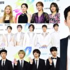Stars Rock The Blue Carpet For Day 2 Of 2019 Soribada Best K-Music Awards