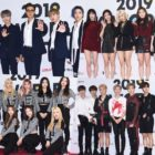 Stars Walk The Red Carpet Of 2019 K-World Festa Closing Ceremony