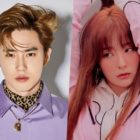 EXO's Suho Makes Fans Laugh With His Comment On Red Velvet's Seulgi's Instagram
