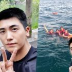 Park Hyung Sik Reveals Original Selfie That BTS's V Used To Photoshop Him Into Vacation Photos